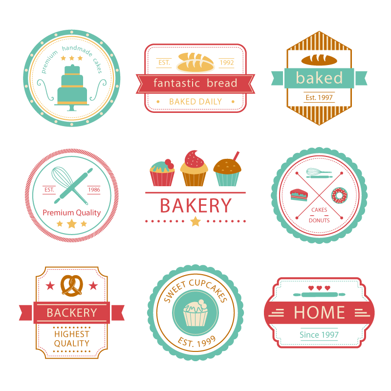 Cake Logo Bakery Vector Baking Free Photo PNG PNG Image