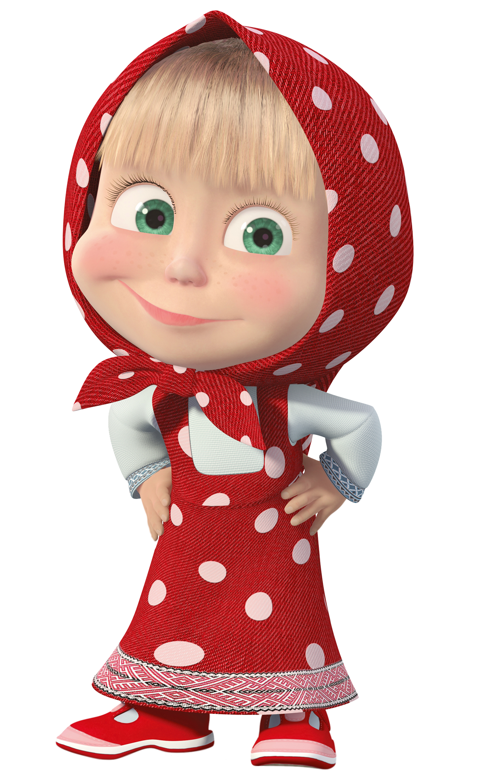 And Masha Dress Bear The With Transparent PNG Image