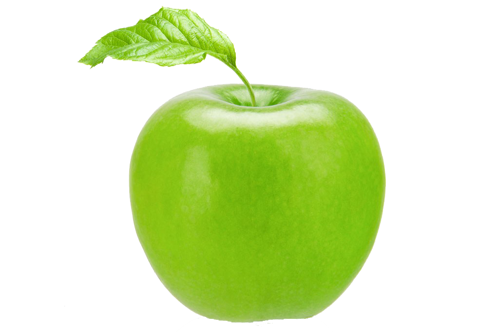 Apple Manzana Smith Verde Green Auglis Granny PNG Image