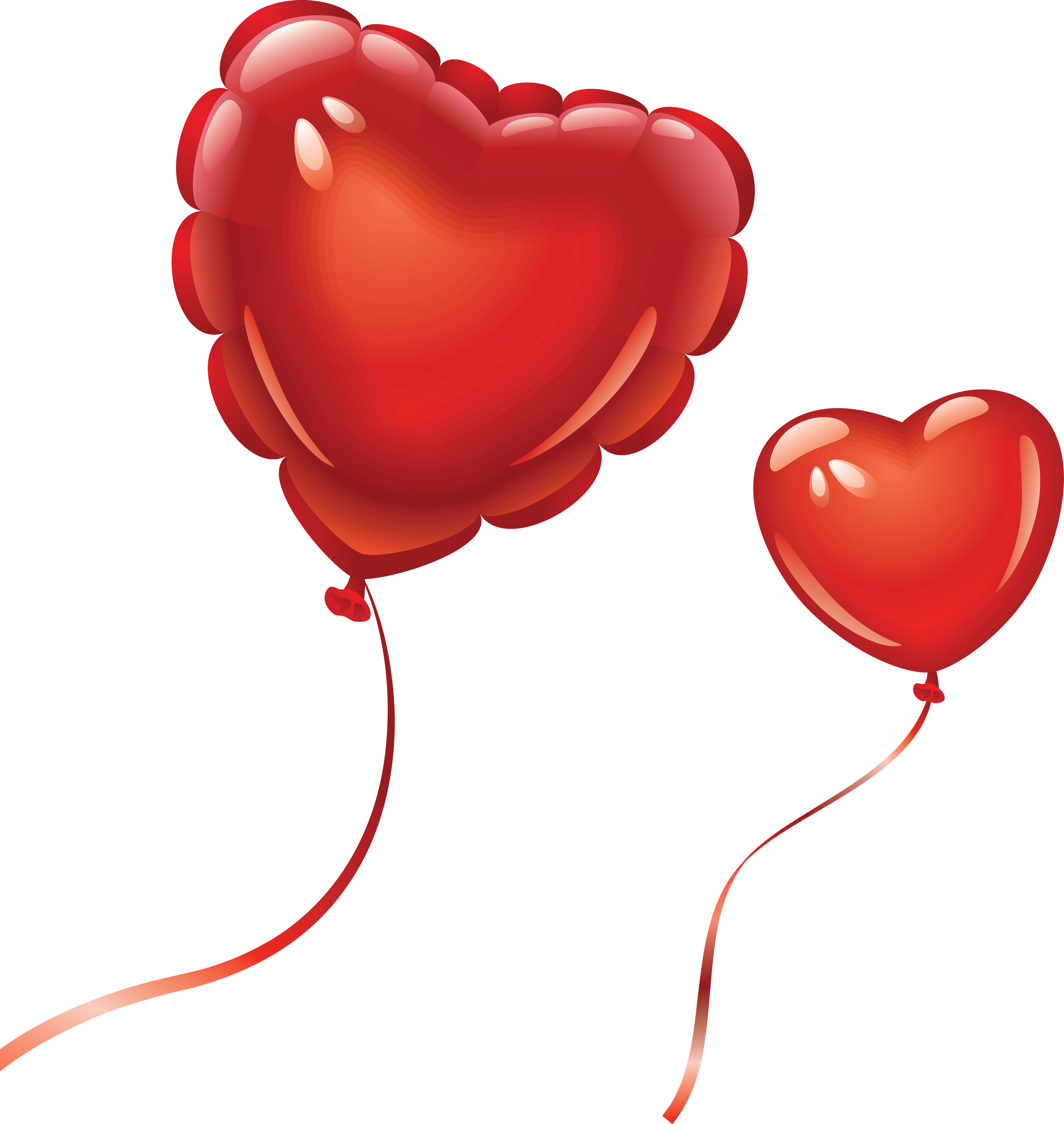 Heart Balloon Png Image Download Heart Balloons PNG Image