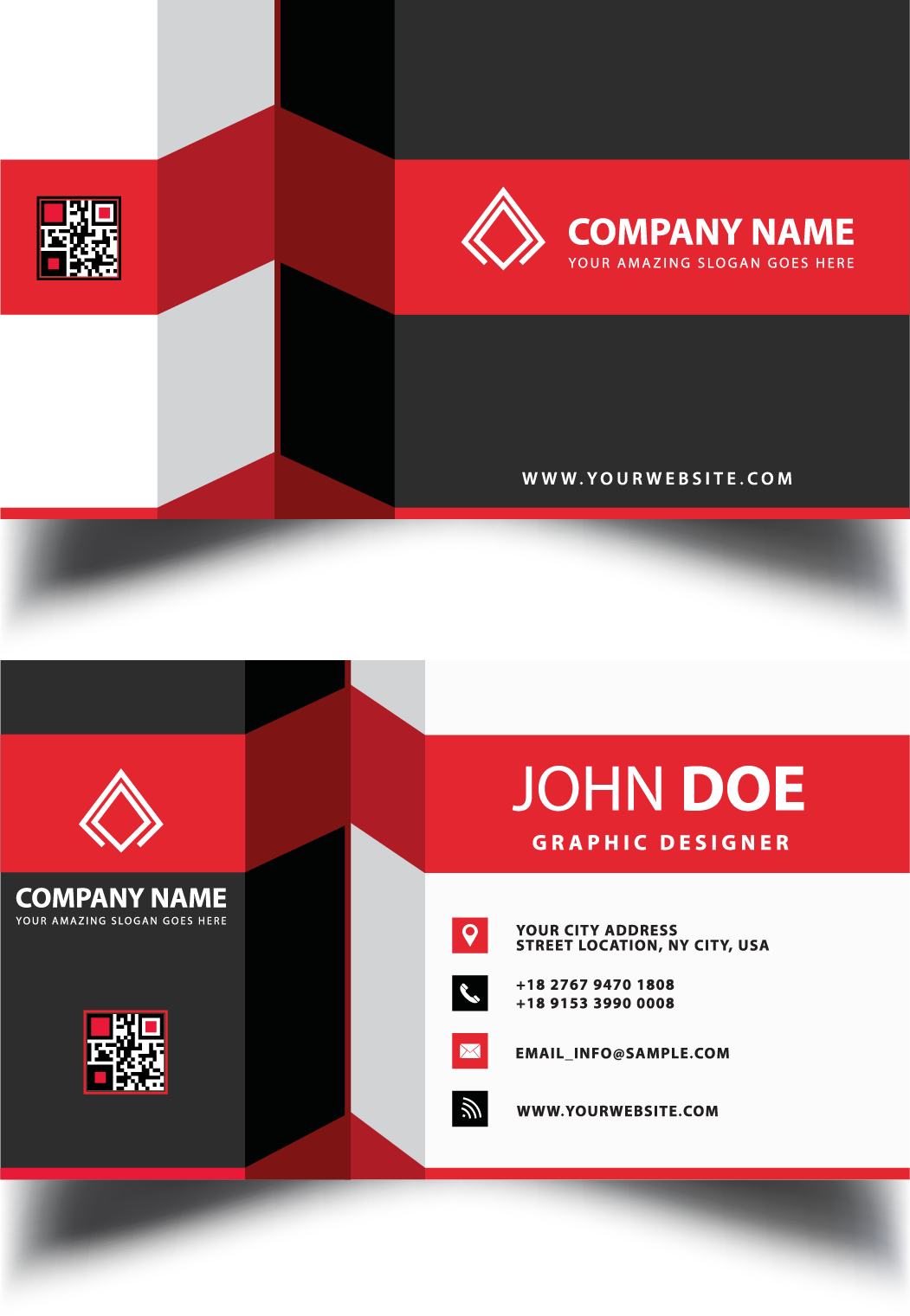 Graphic Design Card Business Visiting HD Image Free PNG PNG Image