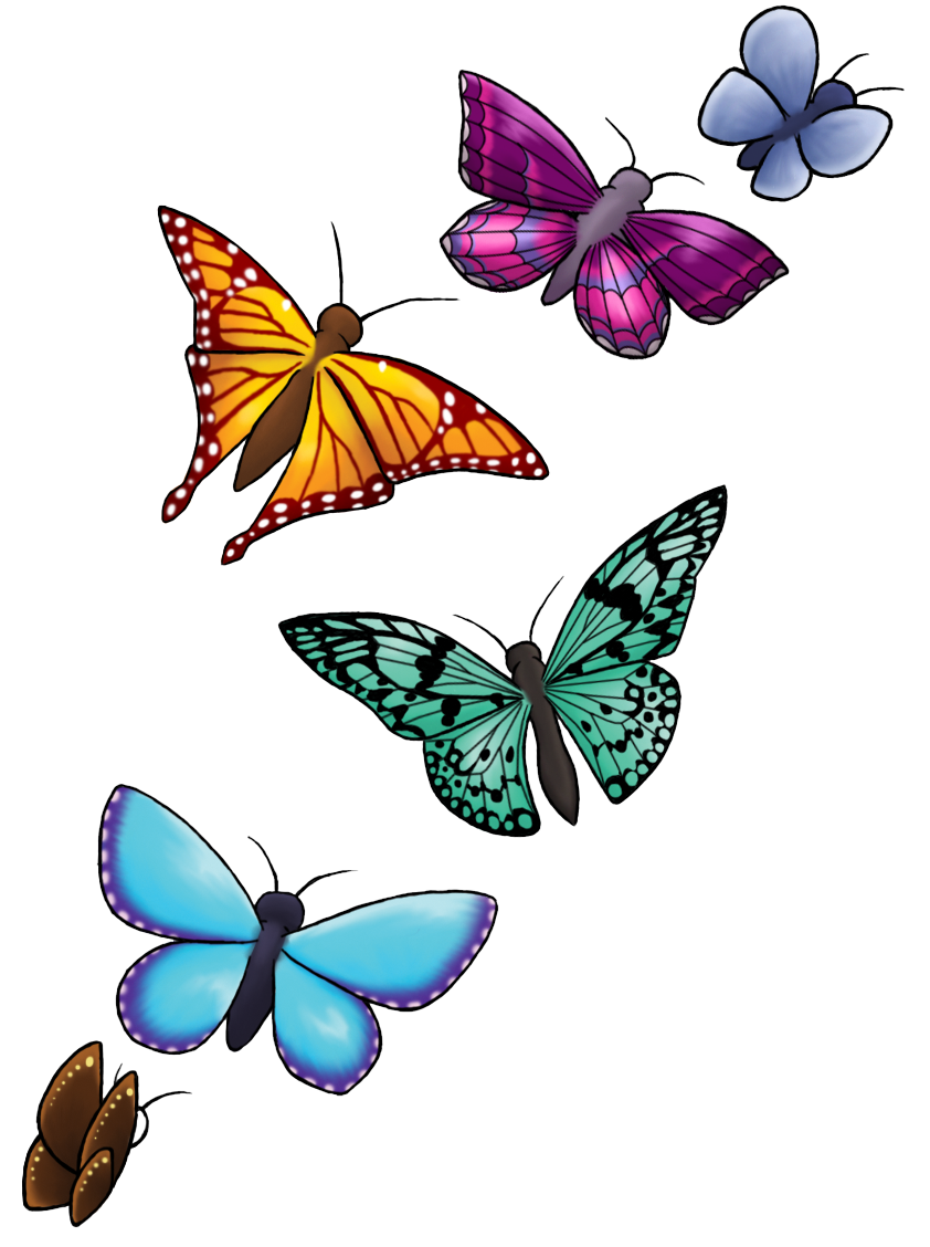 Butterfly Tattoo Designs Png Clipart PNG Image