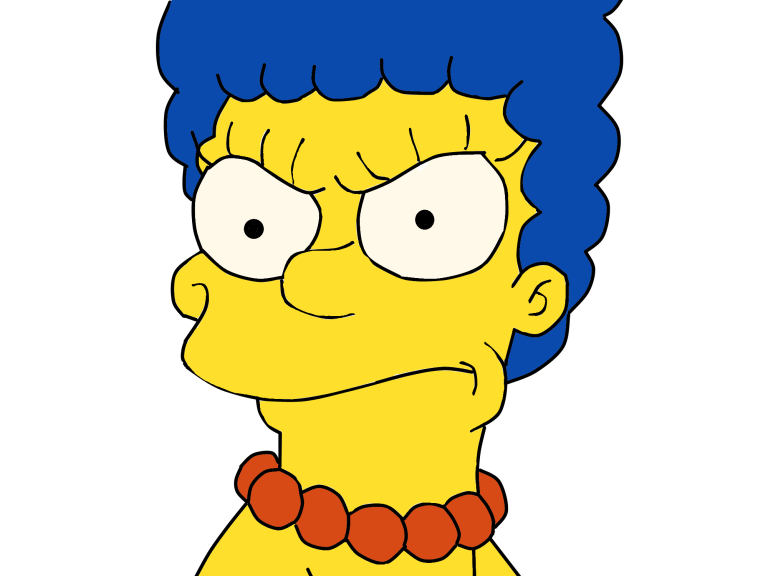 Homer Bart Area Smiley Marge Simpson PNG Image