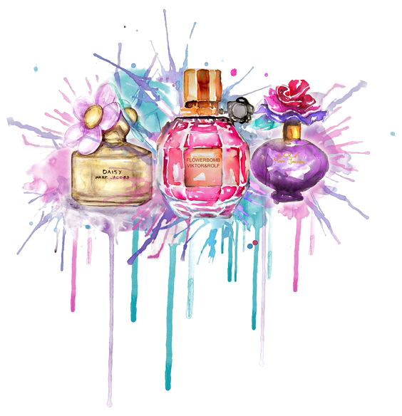 Mademoiselle Illustration Chanel Coco Perfume Drawing PNG Image