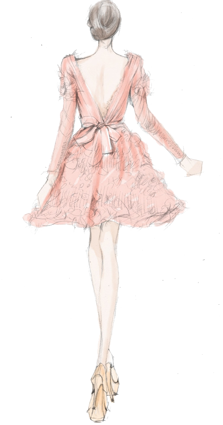 Fashion Chanel Illustration Drawing PNG Image High Quality PNG Image