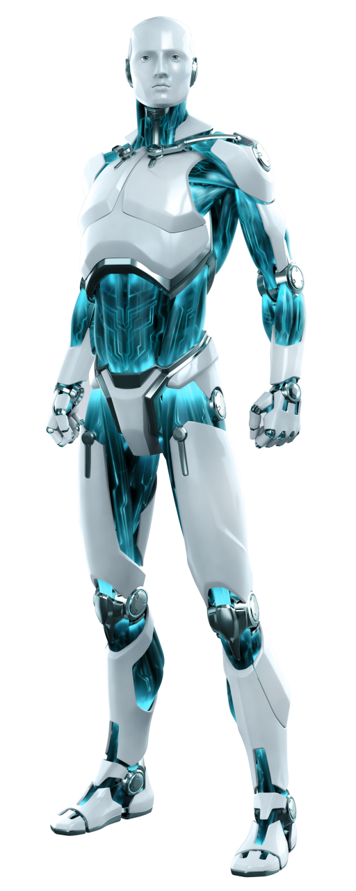 Eset Cyborg Robot Transparent Computer Security Android PNG Image