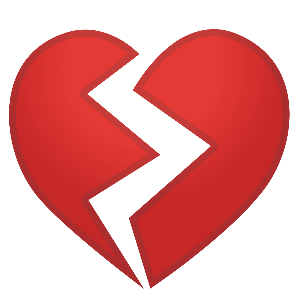Download Heart Broken Love Emoticon Emoji Free Clipart HQ