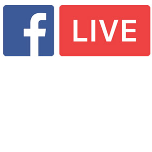 Vector Media Streaming Live Broadcasting Facebook Livestream PNG Image
