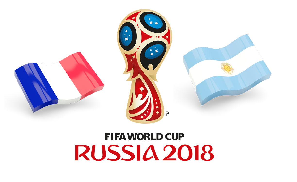 Fifa World Cup 2018 France Vs Argentina PNG Image