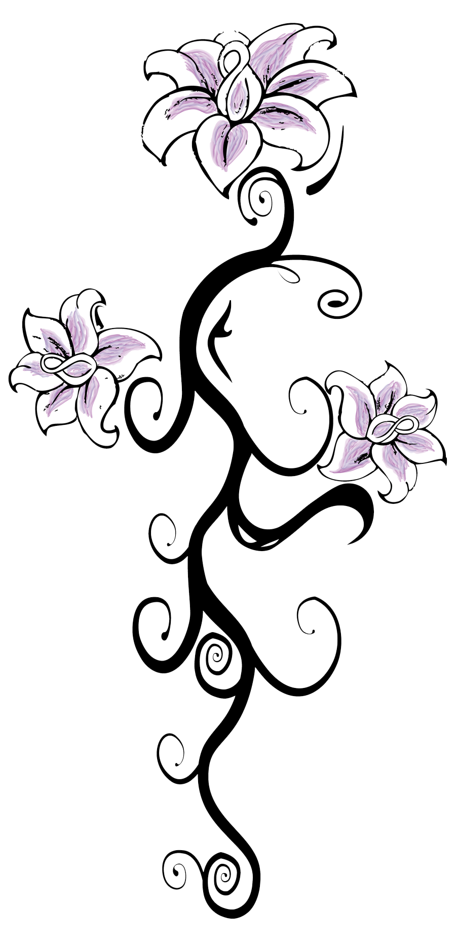 Flower Tattoo Transparent PNG Image