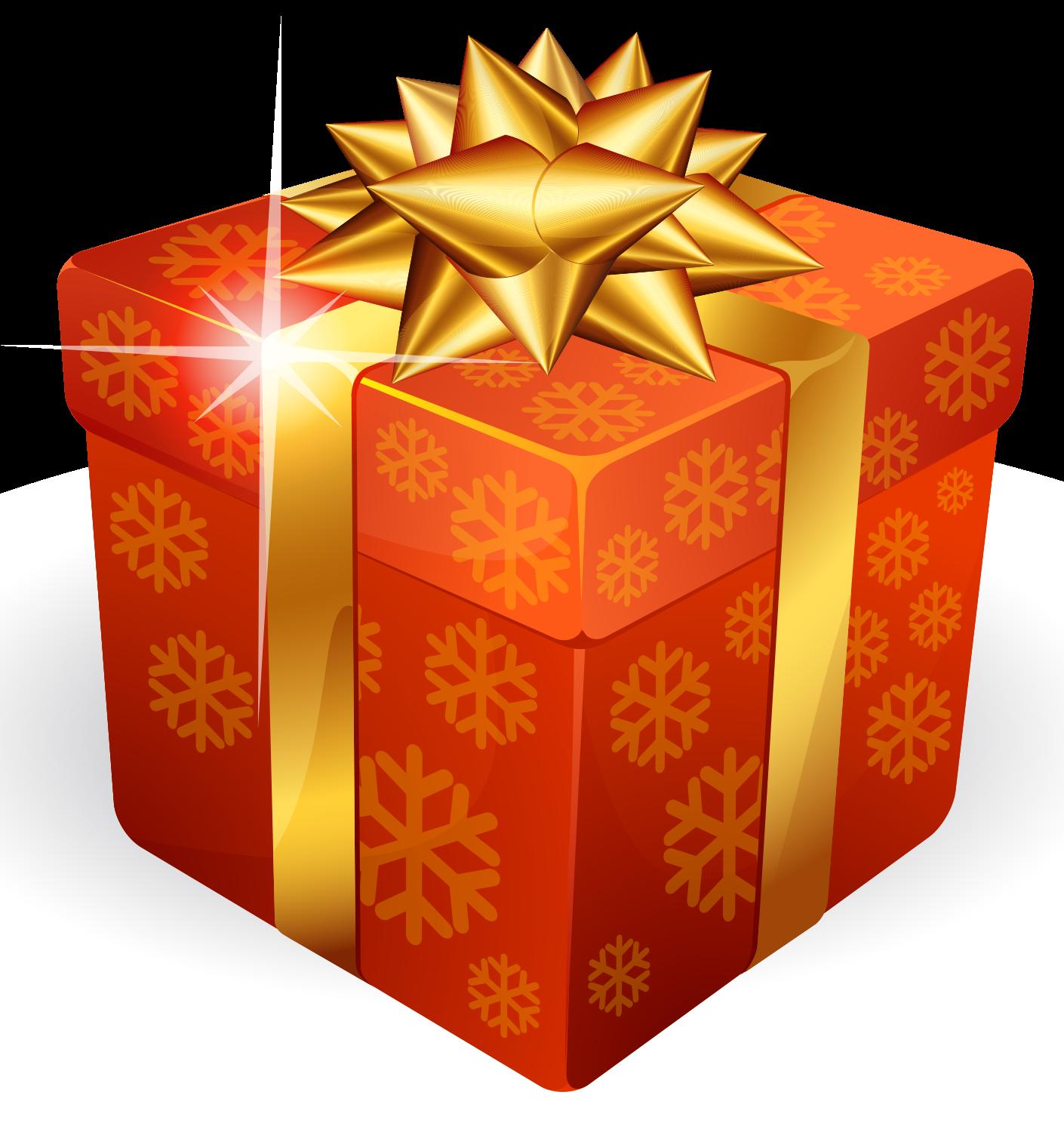 Download Gold Gift Box HQ PNG Image | FreePNGImg