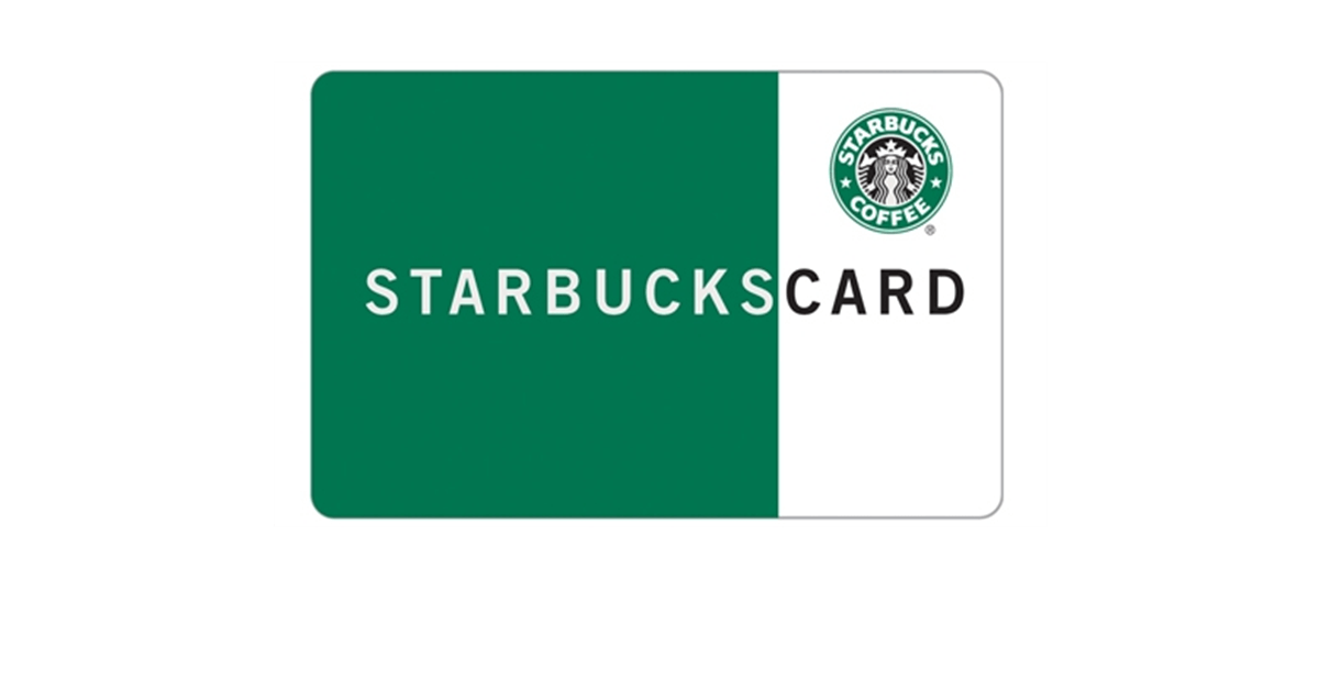 Gift Discount Coupon Credit Starbucks Card PNG Image