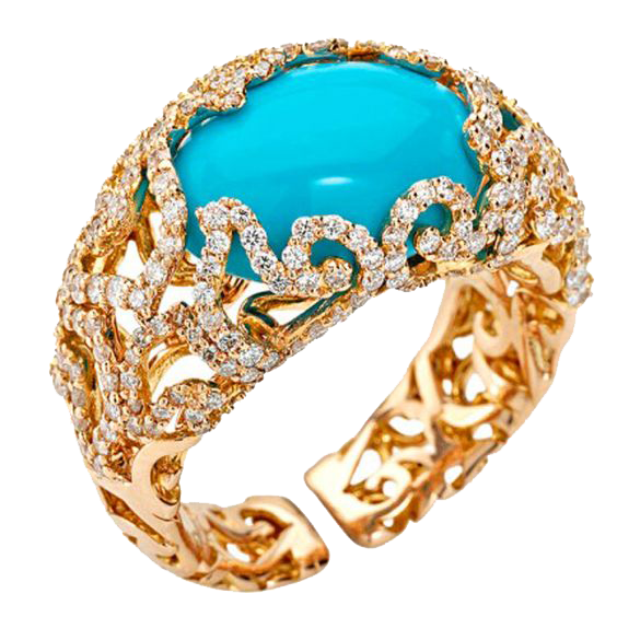 Gold Rings Clipart PNG Image
