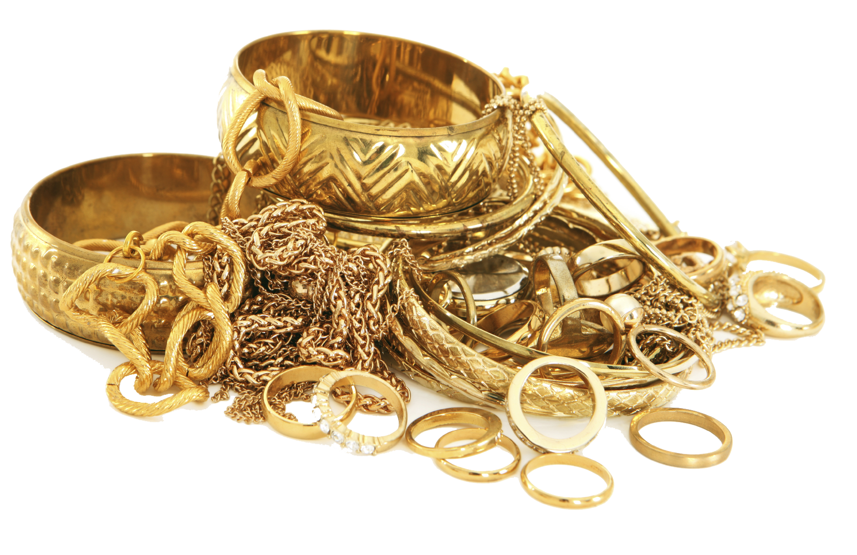 Gold Jewelry PNG Image
