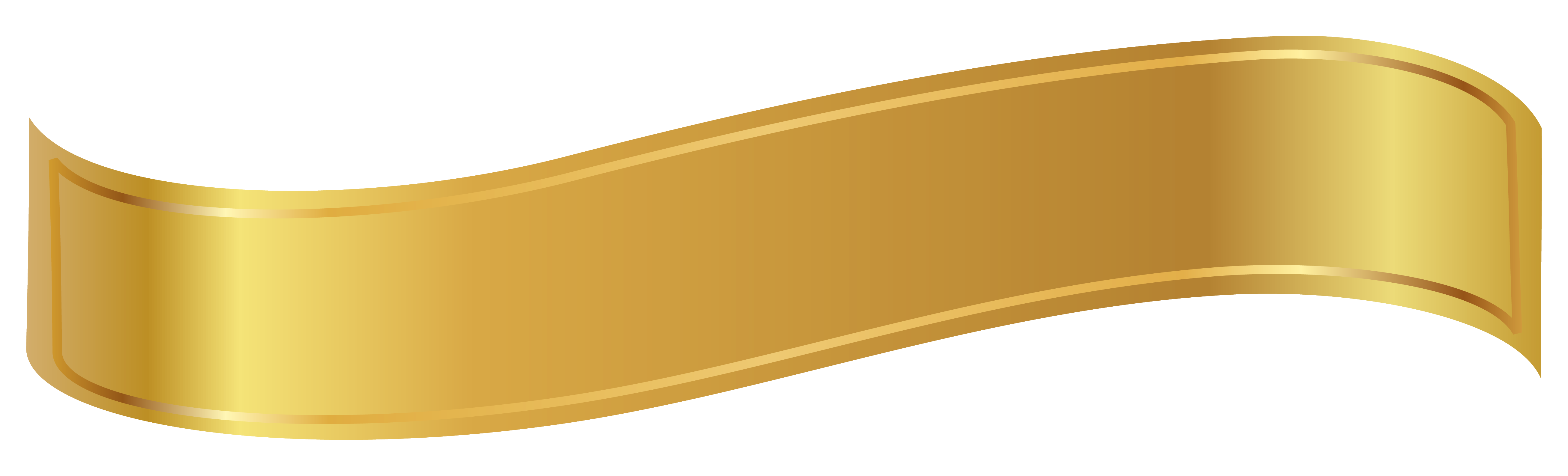Golden Ribbon Free PNG HQ PNG Image