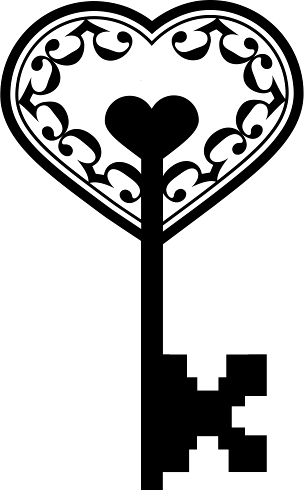 Heart Key HQ Image Free PNG PNG Image