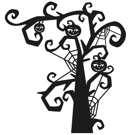 Halloween Tree PNG Image