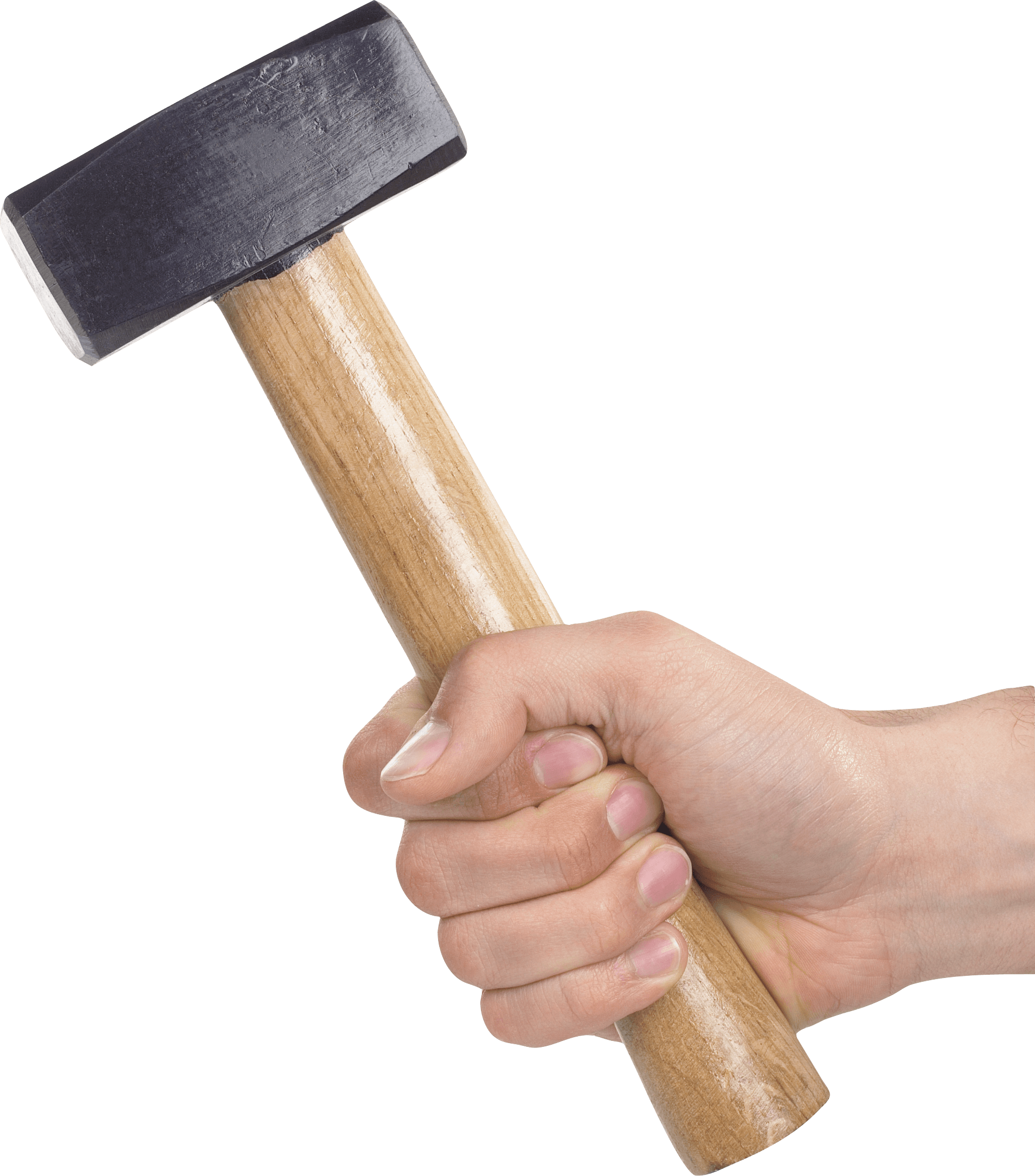Hammer In Hand Png Image PNG Image