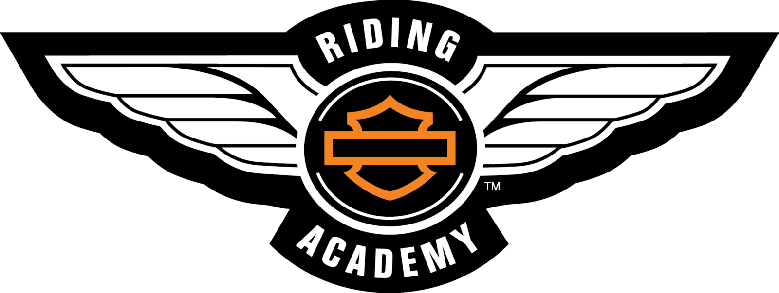 Harley Davidson Logo Riding Academy Png PNG Image