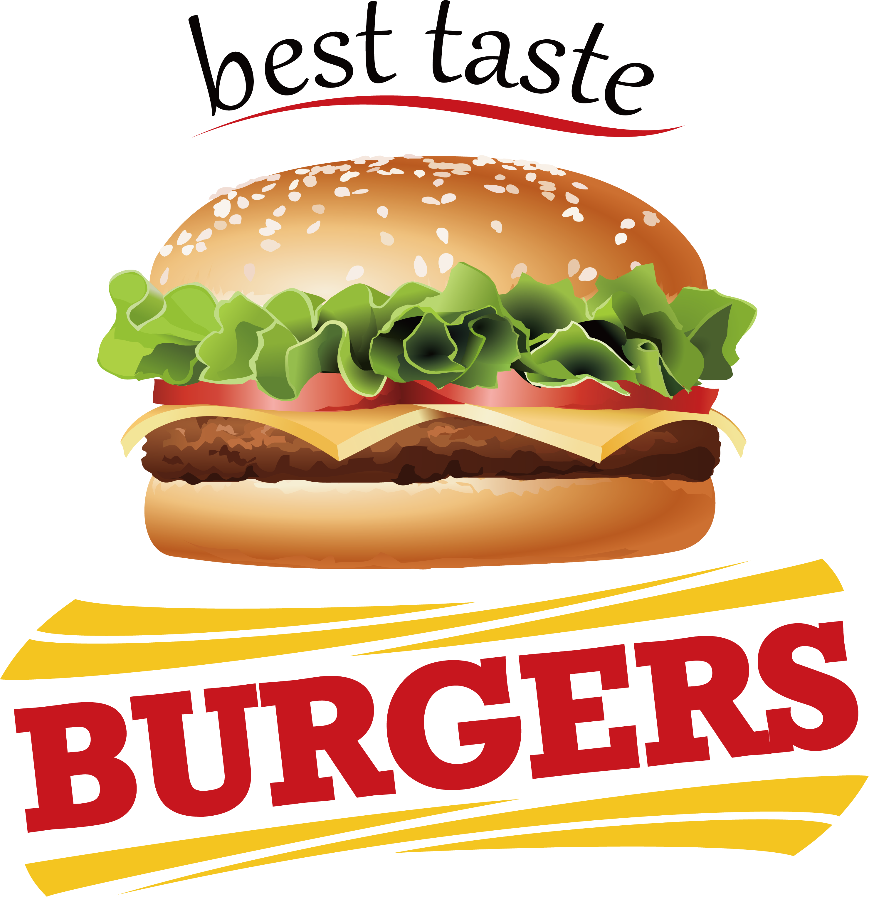 King Hamburger Food Fries Dog French Burger PNG Image