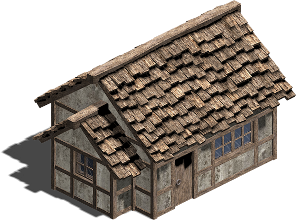Wooden House Transparent PNG Image