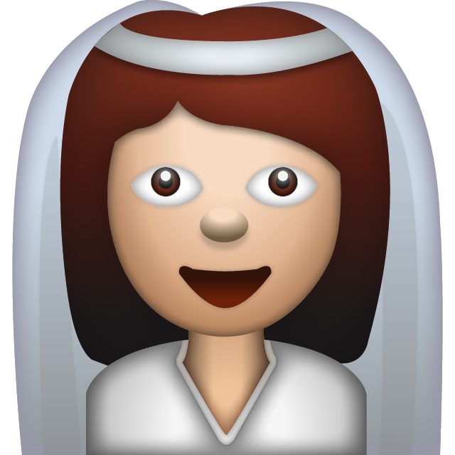 Bride With Veil Woman Emoji Icon Download Free PNG Image