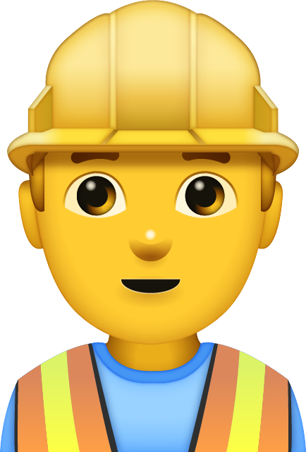 Man Construction Worker Free Icon HQ PNG Image