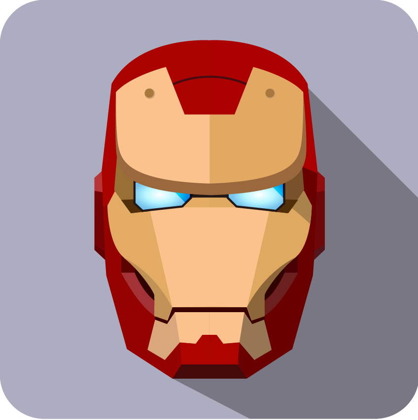 Superhero Phone Avatar Iron Icon- Man Cartoon PNG Image