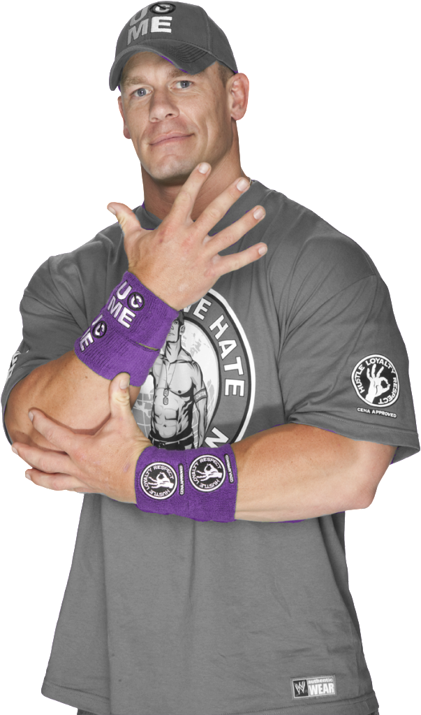 John Cena U Cant See Me Png PNG Image