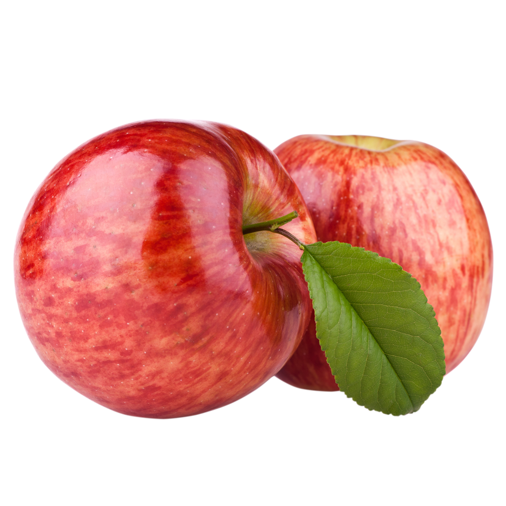 Apple Food Fuji Juice Fruit Red PNG Image