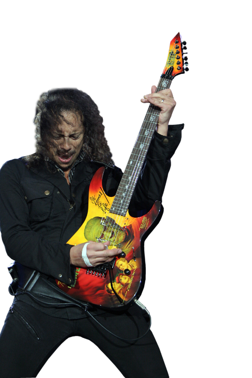 Kirk Hammett Png Clipart PNG Image