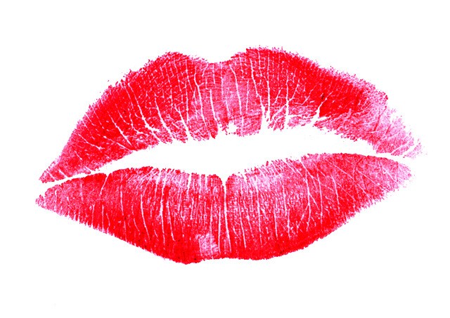 Lipstick Kiss Transparent Background PNG Image