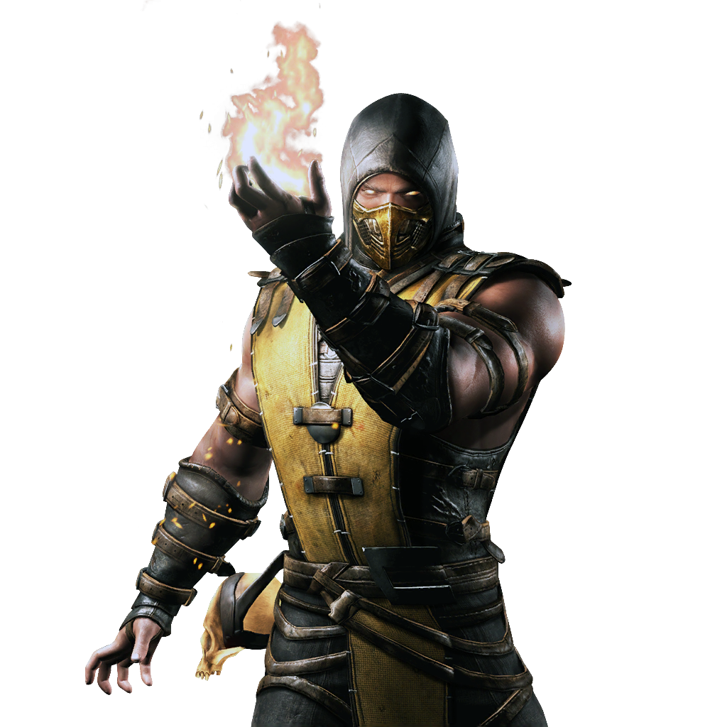 Sub Knight Armour Zero Mortal Kombat PNG Image