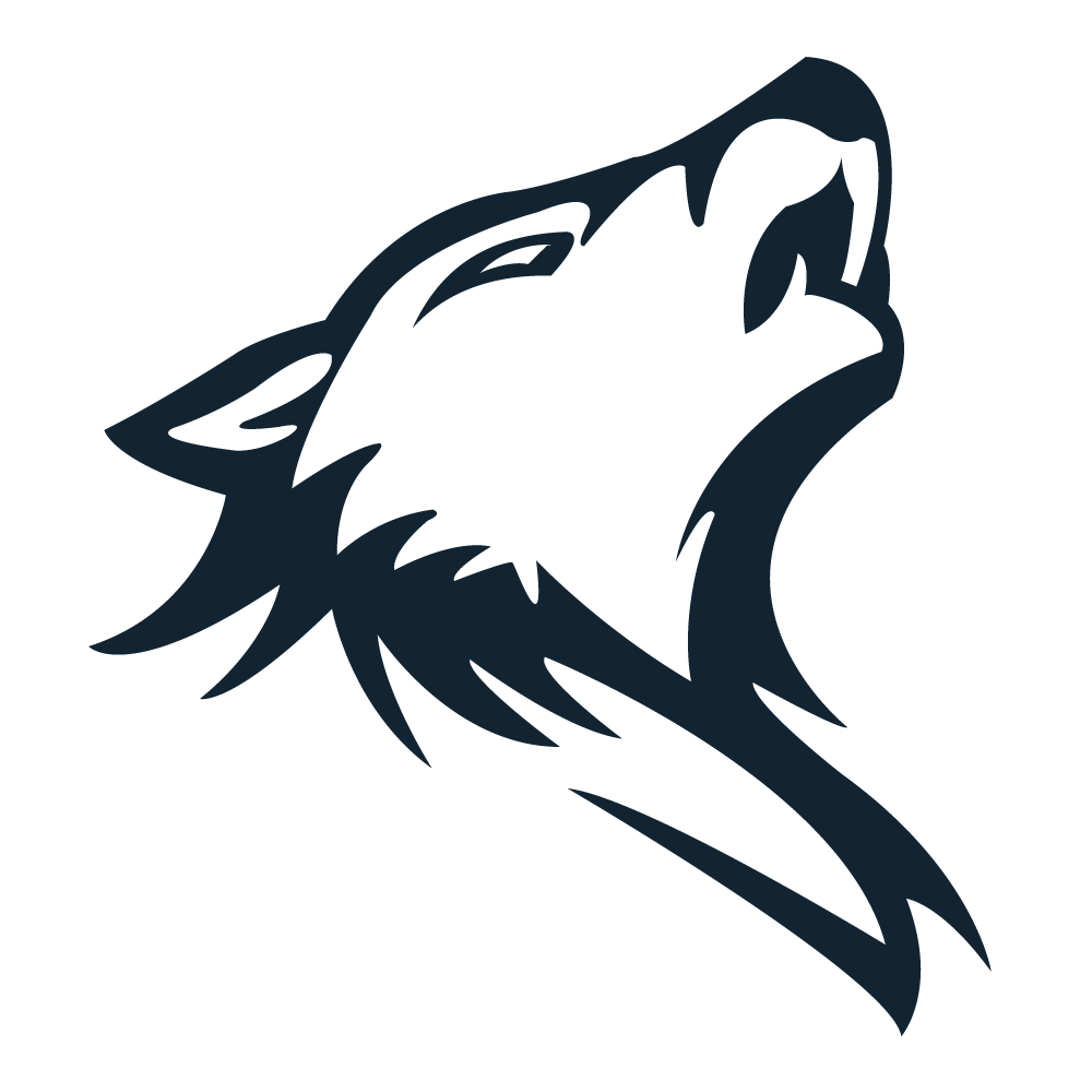 Art Of Arctic Lone Computer Wolf Prey PNG Image