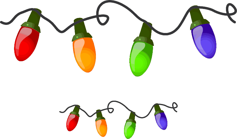Holly Lights Free Download PNG Image