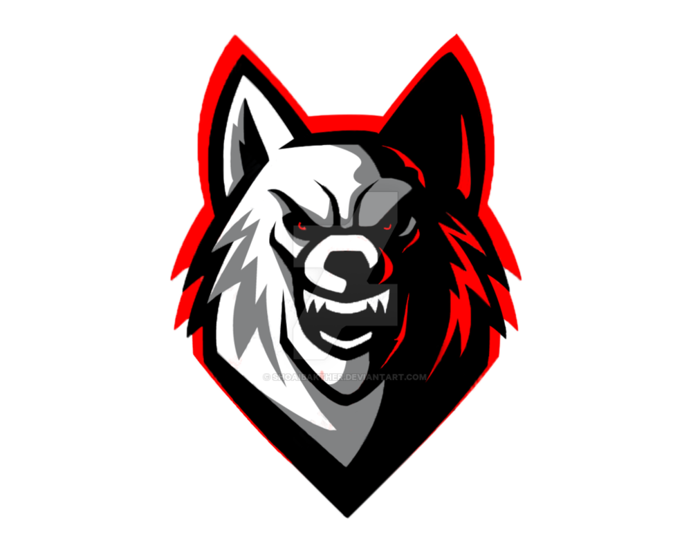 Gray Black Wolf Logo Download HQ PNG PNG Image