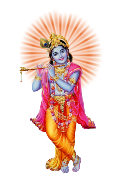 Lord Krishna Png Pic PNG Image