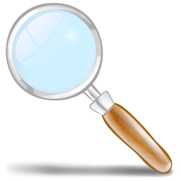 Magnifying Glass Clip Art PNG Image