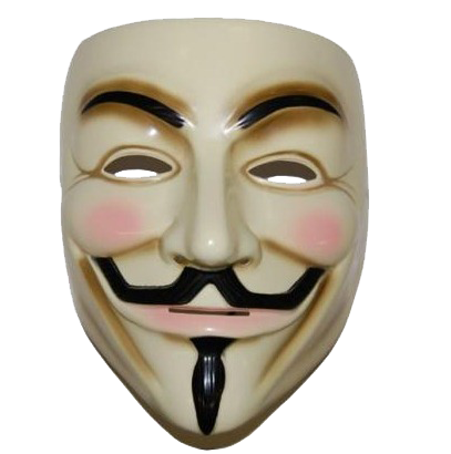 Anonymous Mask Transparent PNG Image