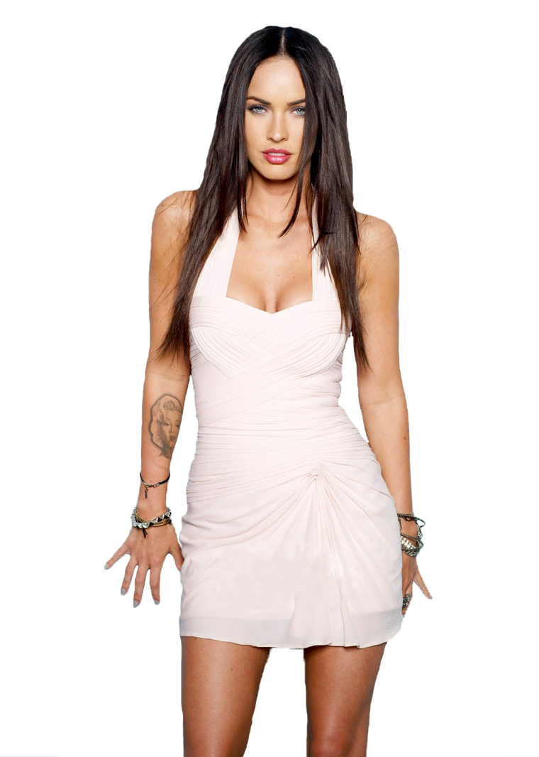 Megan Fox Transparent Image PNG Image