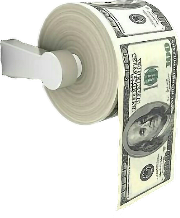 Toilet Holders Paper Money Download HQ PNG PNG Image