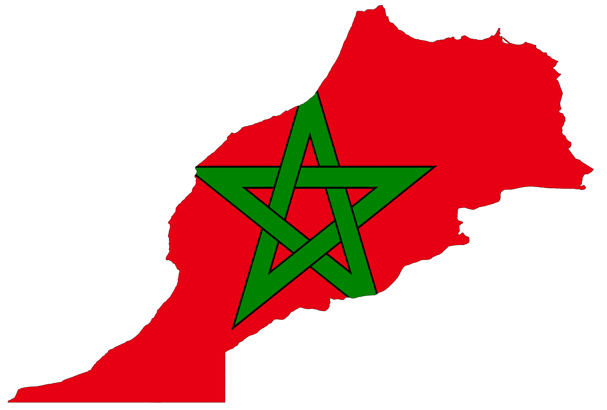 Morocco Flag High-Quality Png PNG Image