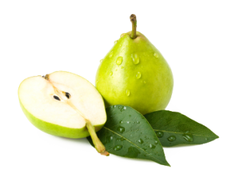 Green Pear Vitamin K Levels PNG Image