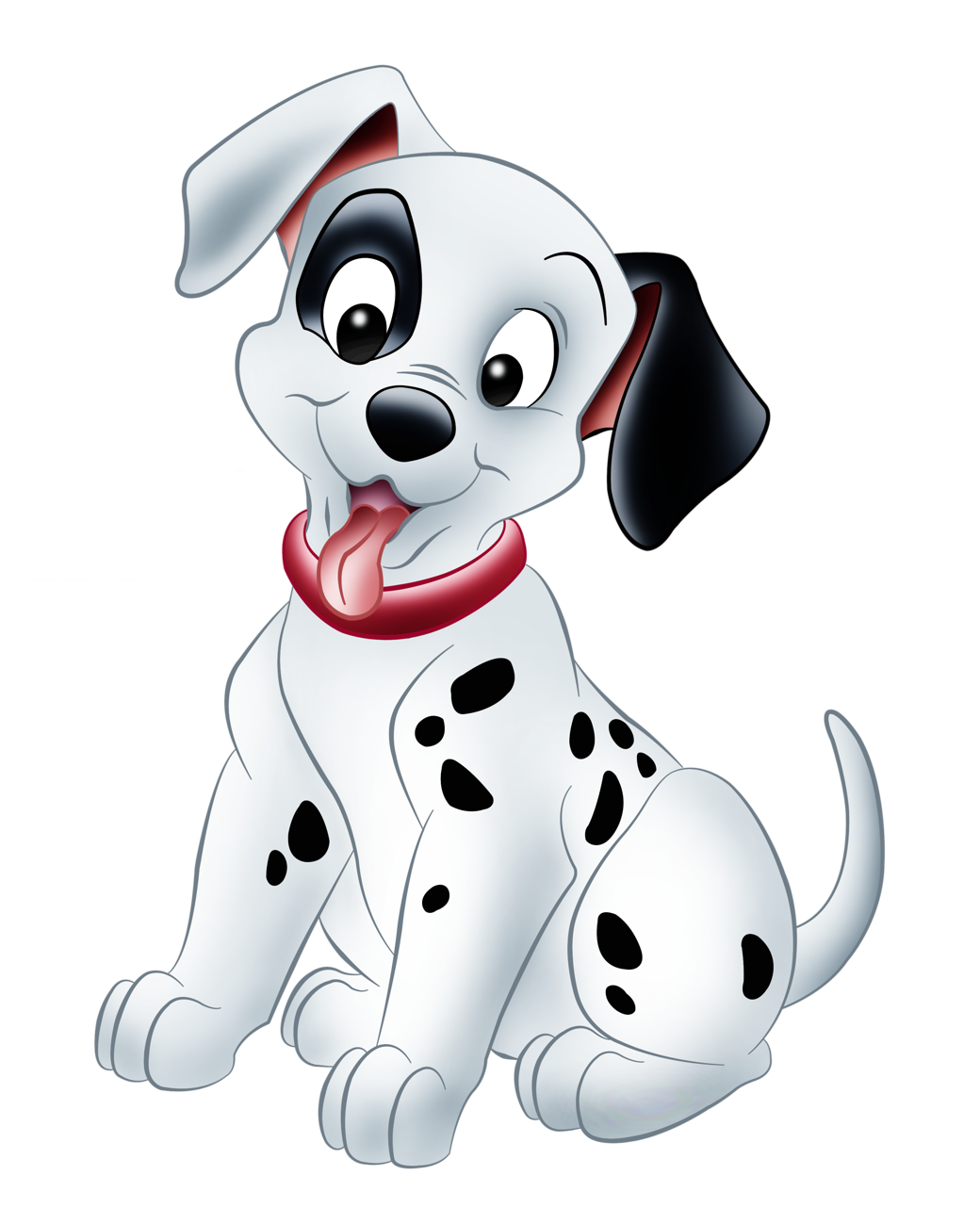 The Puppy Dalmatians Picture De Dog Vil PNG Image