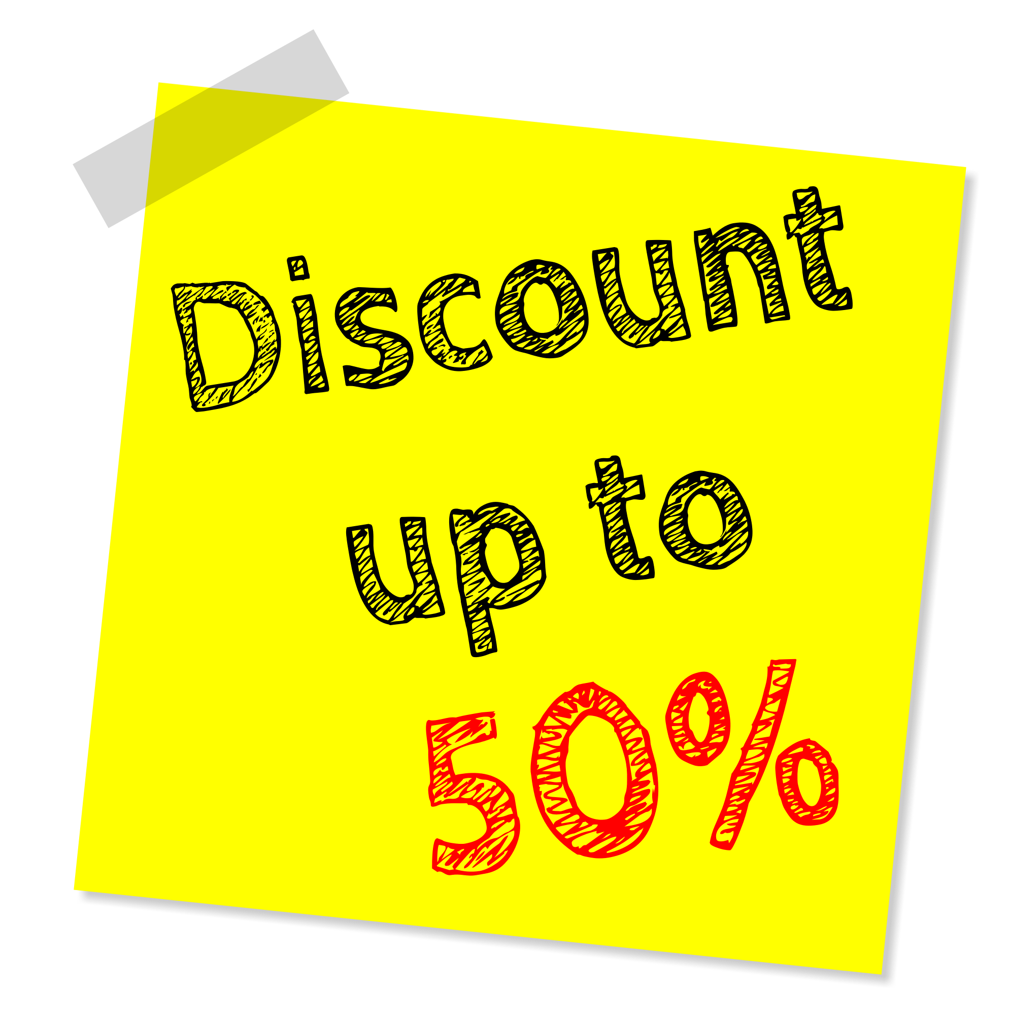 Price Sales Sticky Note Discount Discounting Retail PNG Image