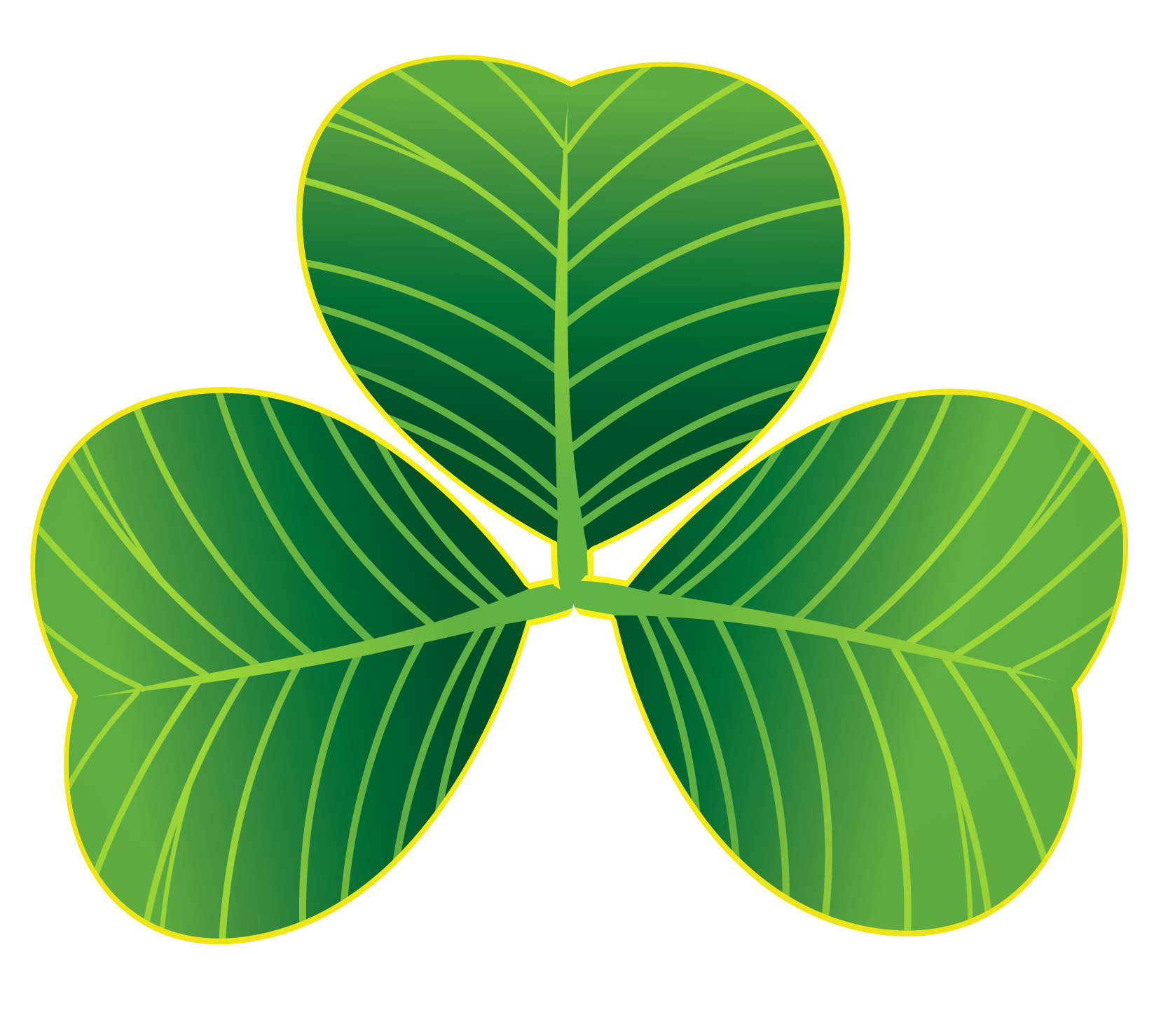 Clover Plant Patrick Shamrock Green Saint Day PNG Image