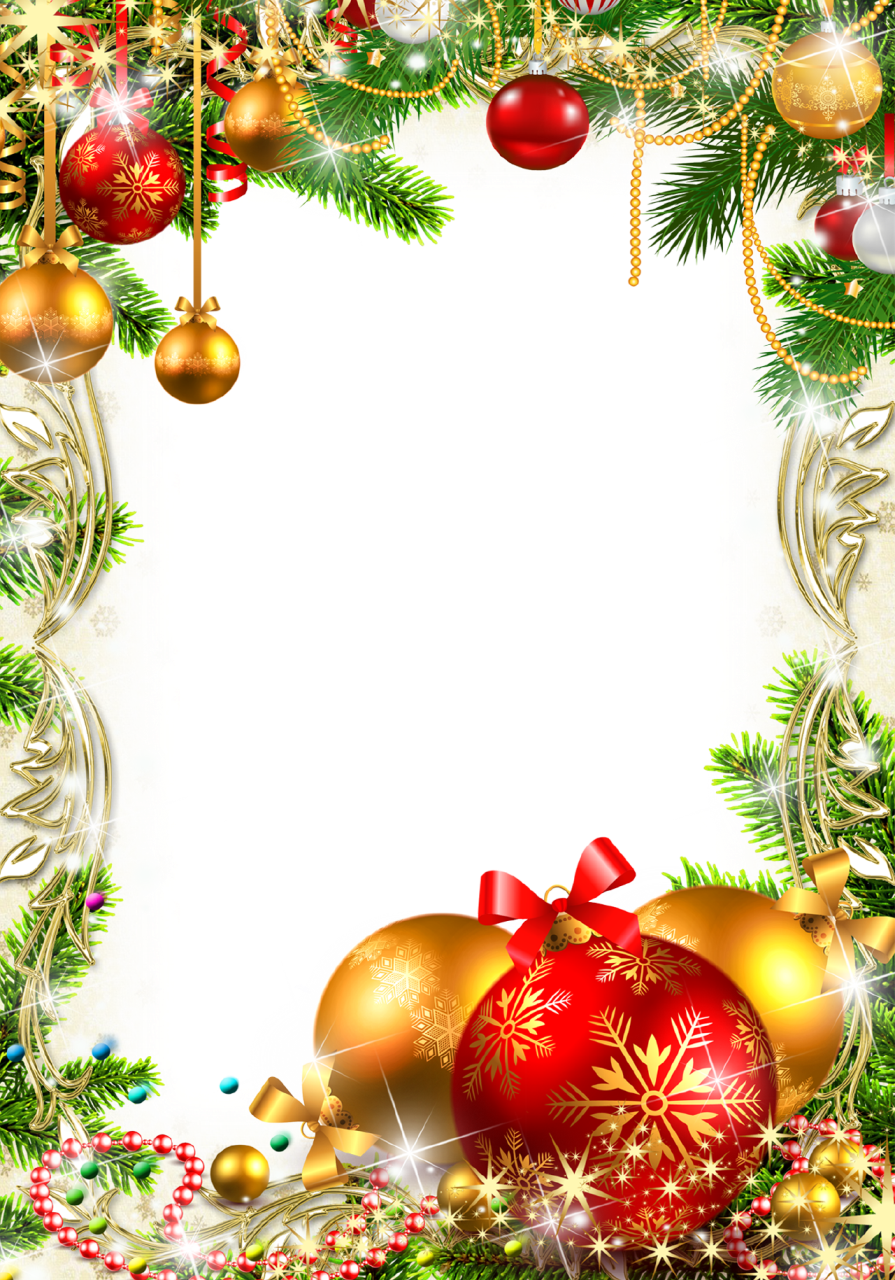 Decoration Picture Frame Christmas Free Download PNG HD PNG Image