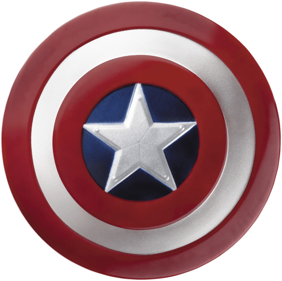 Round Captain America Shield Png Image PNG Image