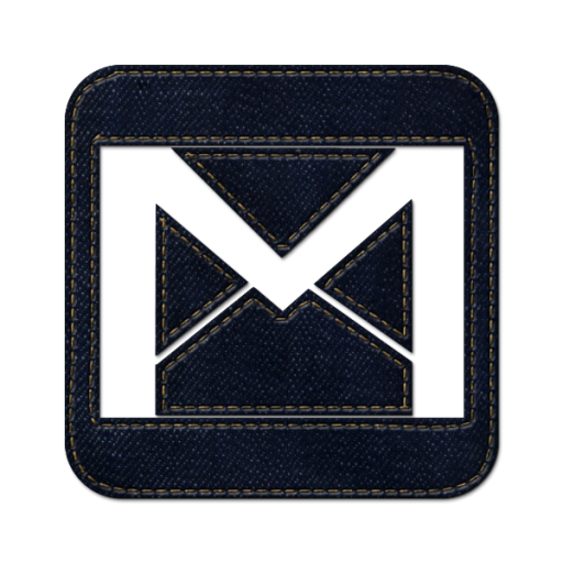 Blue Square Angle Electric Brand Emblem Gmail PNG Image