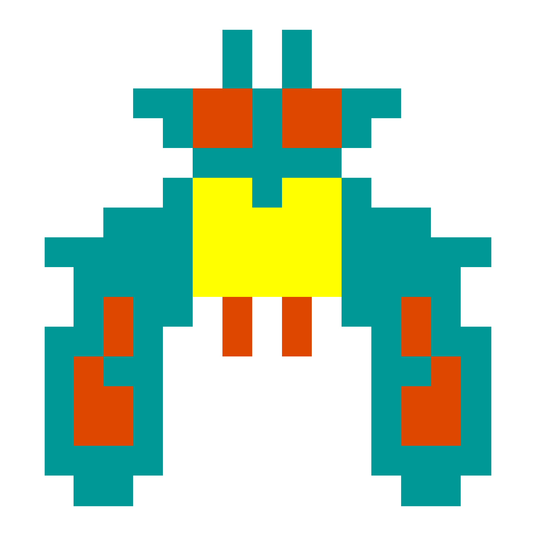 Angle Symmetry Space Galaxian Invaders Galaga PNG Image